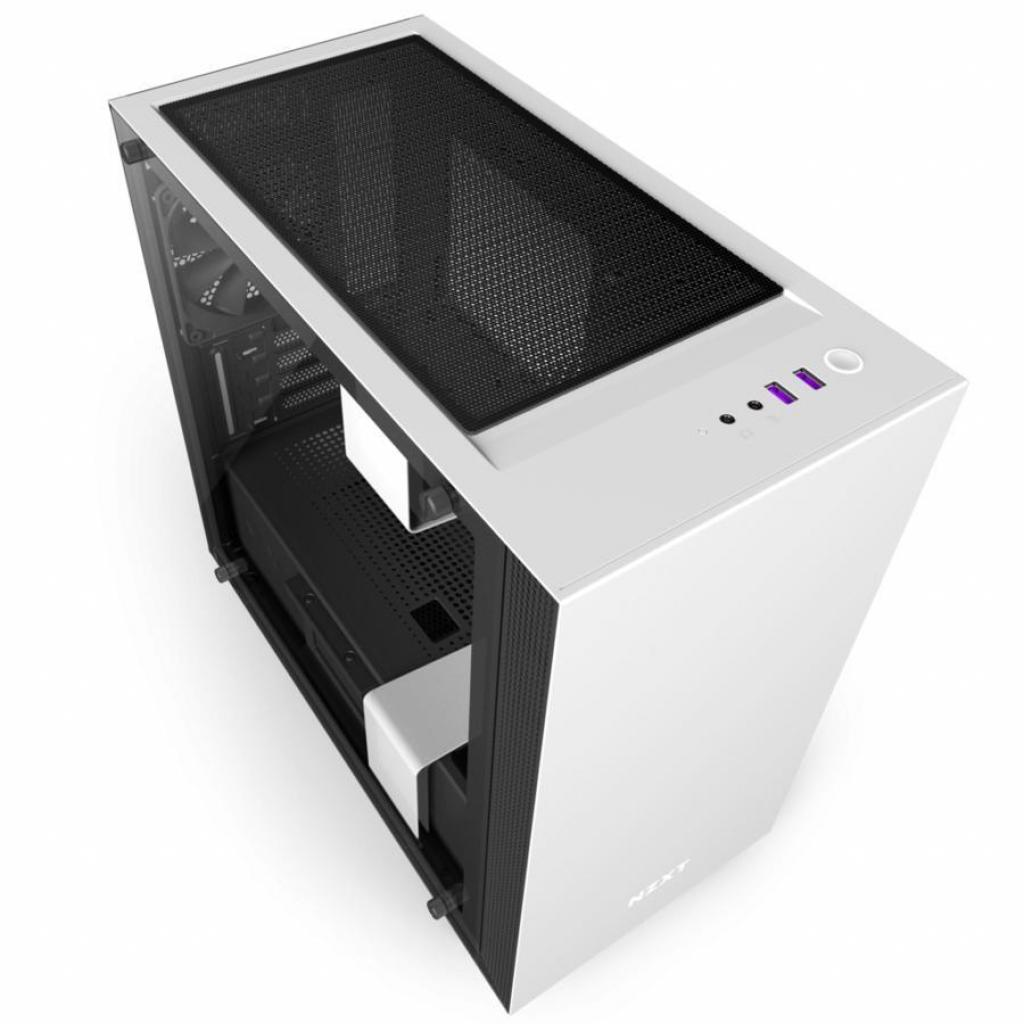 Корпус NZXT H400i SMART BLACK (CA-H400W-WB) изображение 7
