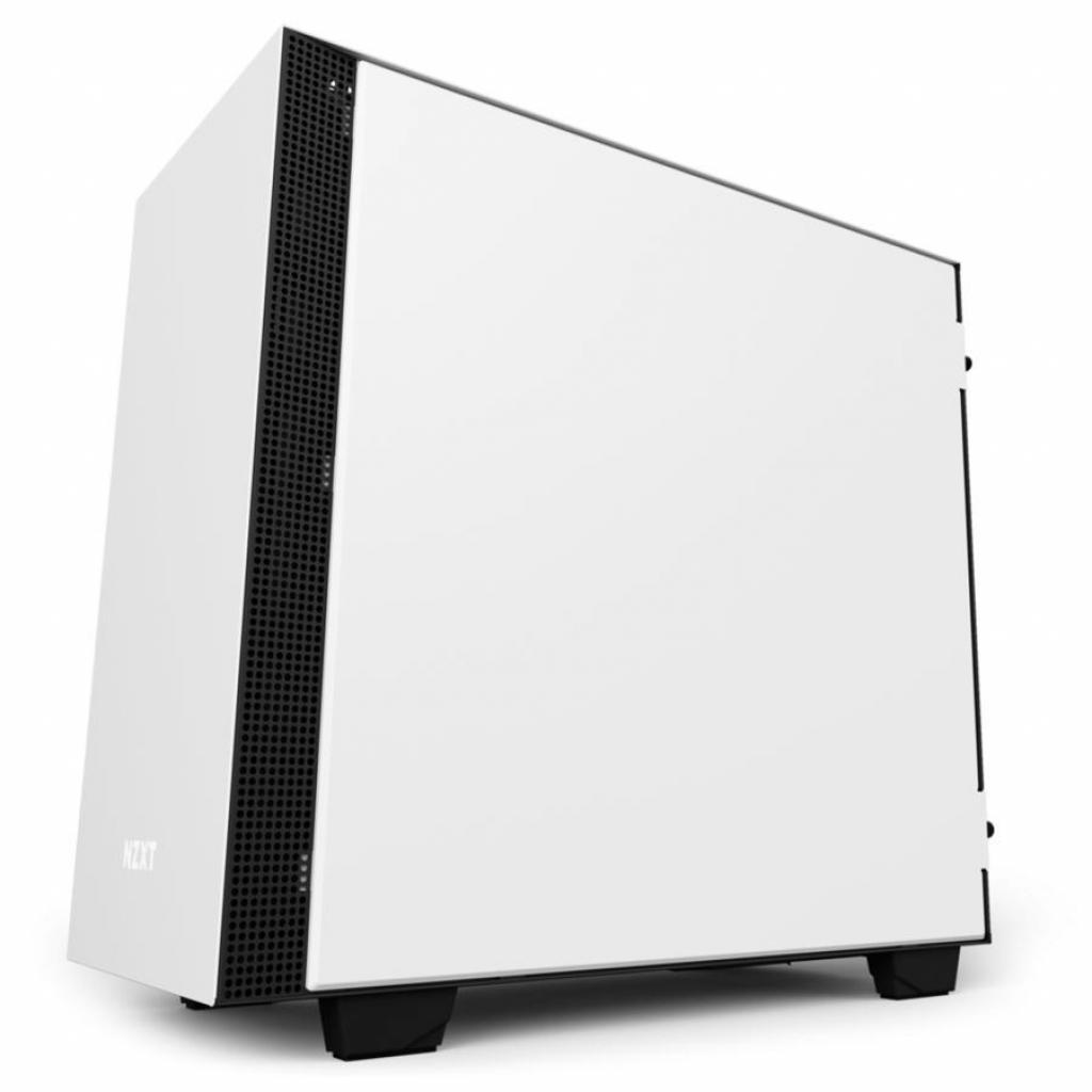 Корпус NZXT H400i SMART BLACK (CA-H400W-WB)