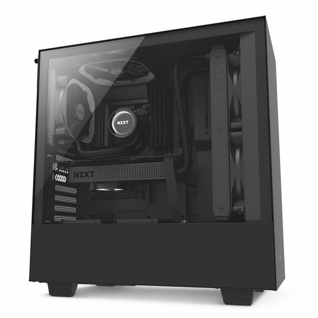 Корпус NZXT H500 Black (CA-H500B-B1) изображение 9