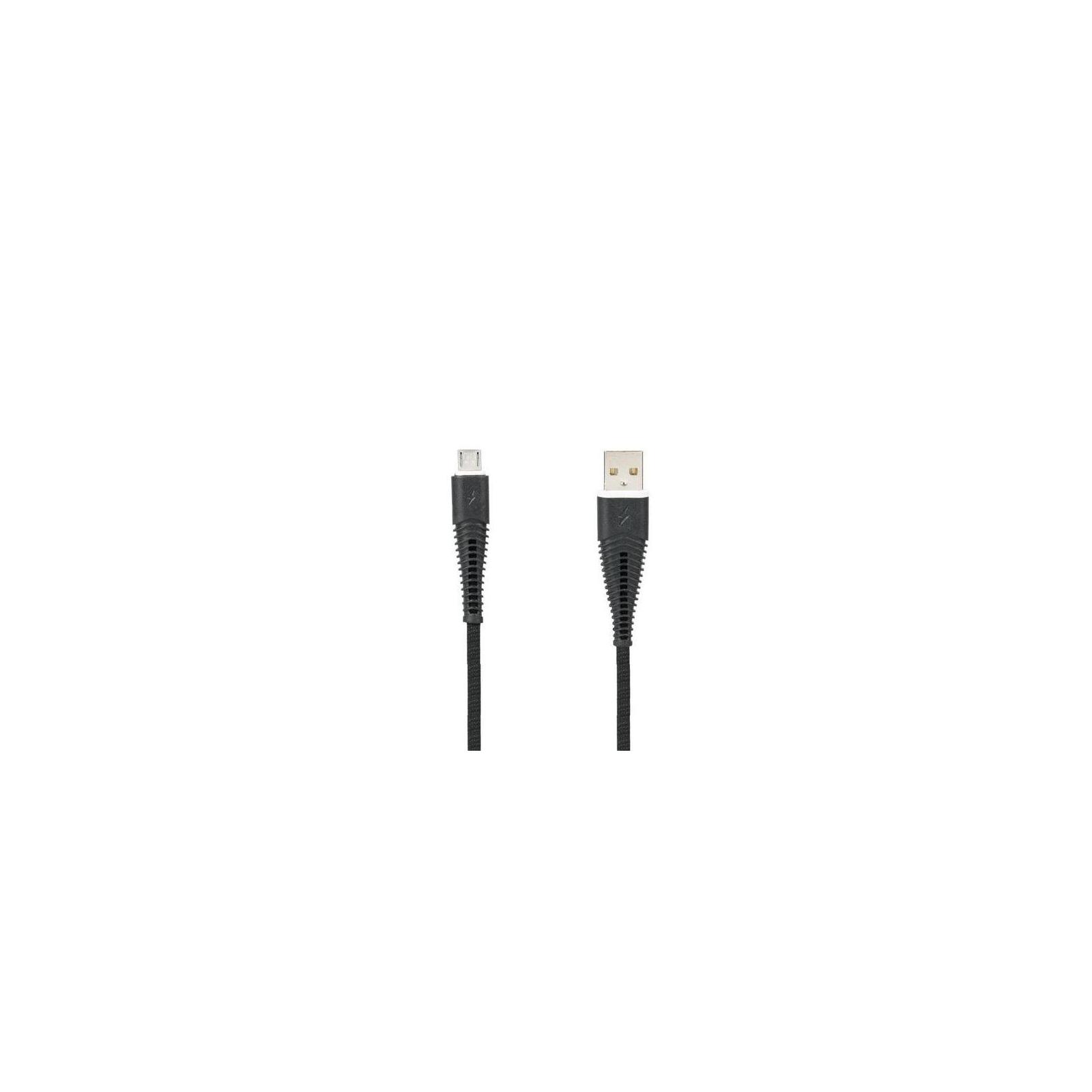 Дата кабель USB 2.0 AM to Micro 5P Pro Amaze 2A Black Gelius (65125)