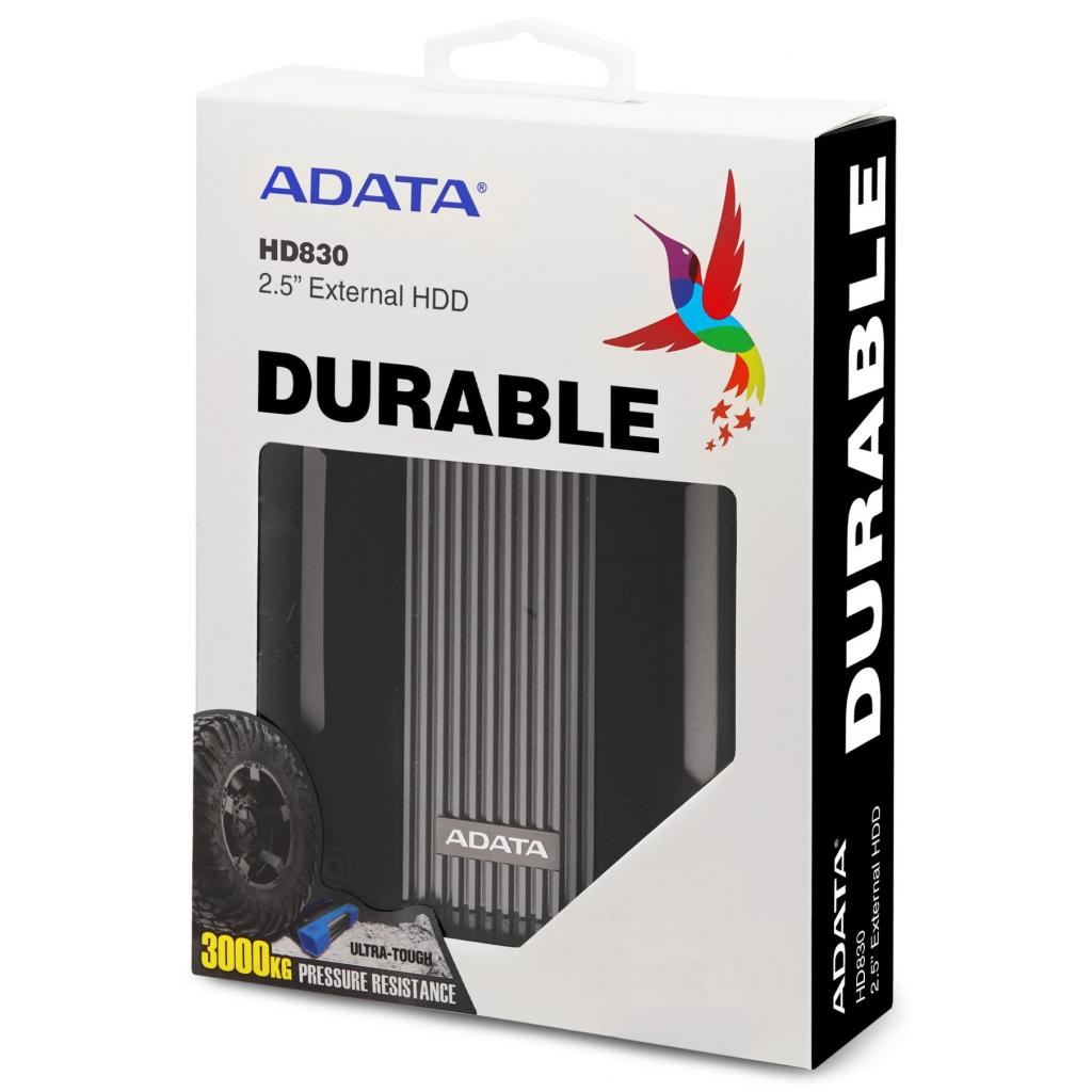 """Внешний жесткий диск 2.5"""" 4TB ADATA (AHD830-4TU31-CBK) изображение 6"""