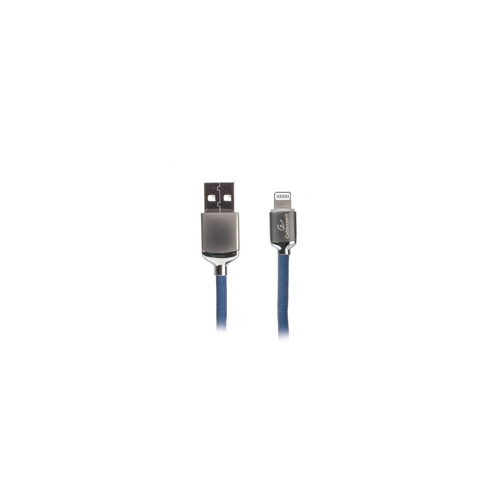 Дата кабель USB 2.0 AM to Lightning 1.0m Cablexpert (CCPB-L-USB-07B)