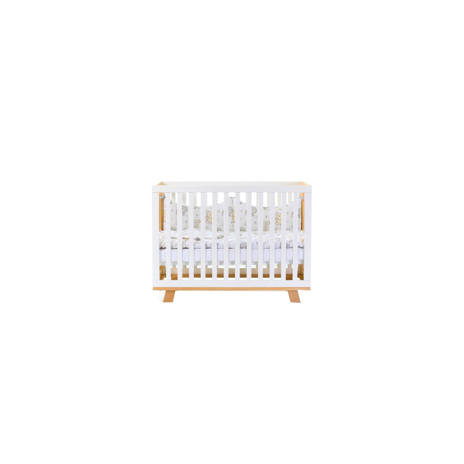 Кроватка Верес Соня ЛД-1 Манхеттен бело-буковая без ящика (1.1.70.32.15) изображение 2