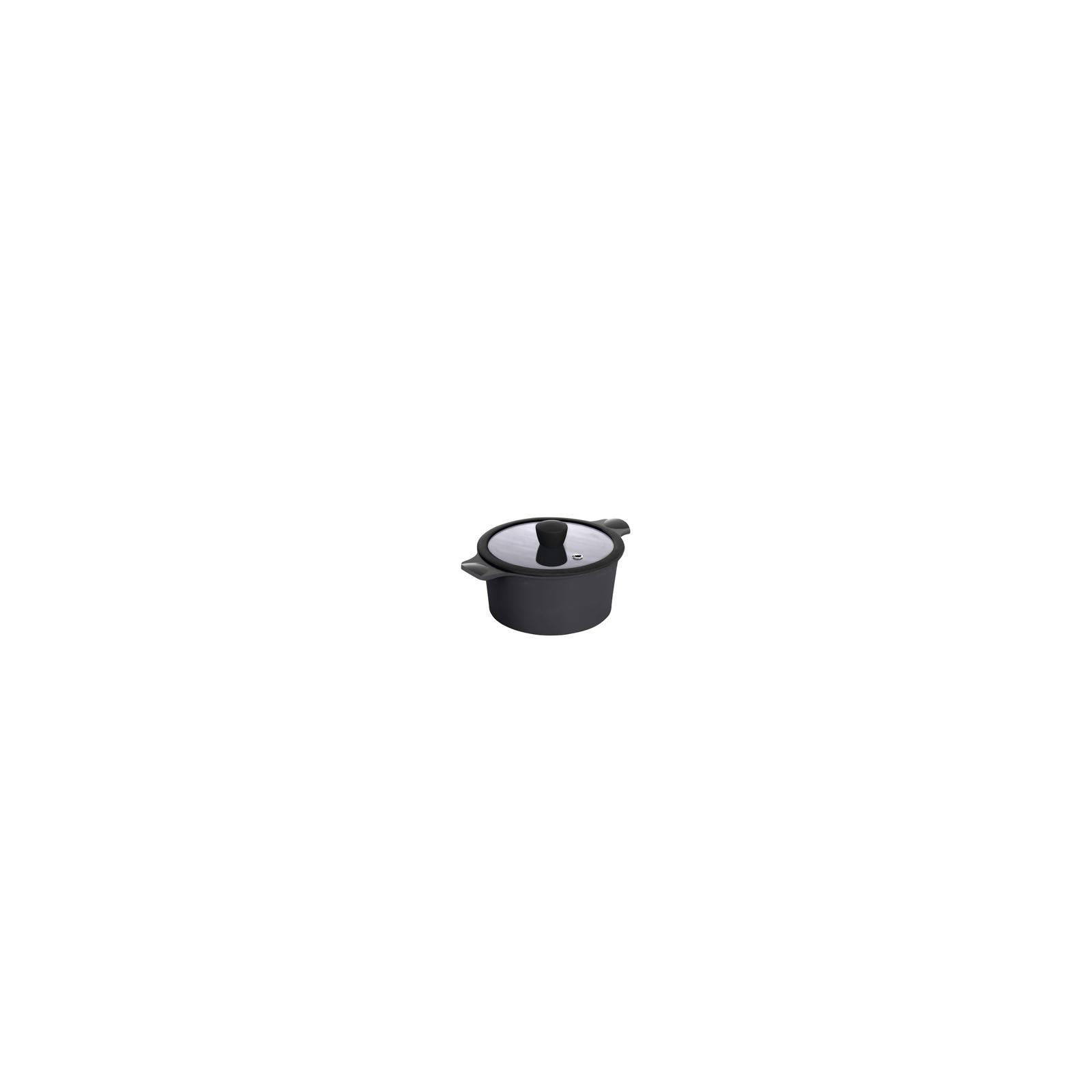 Кастрюля Ringel Zitrone black с крышкой 5,8 л (RG-2108-24/2 BL)