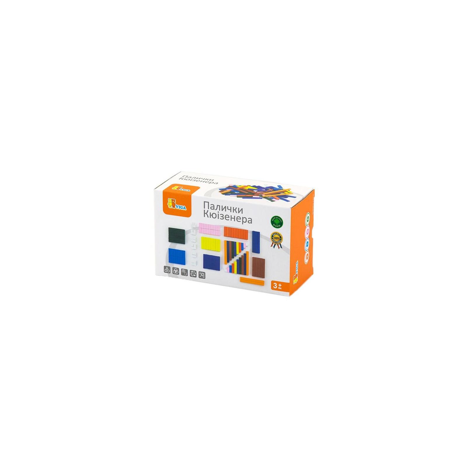 Навчальний набір Viga Toys Палички Кюїзенера (51765)