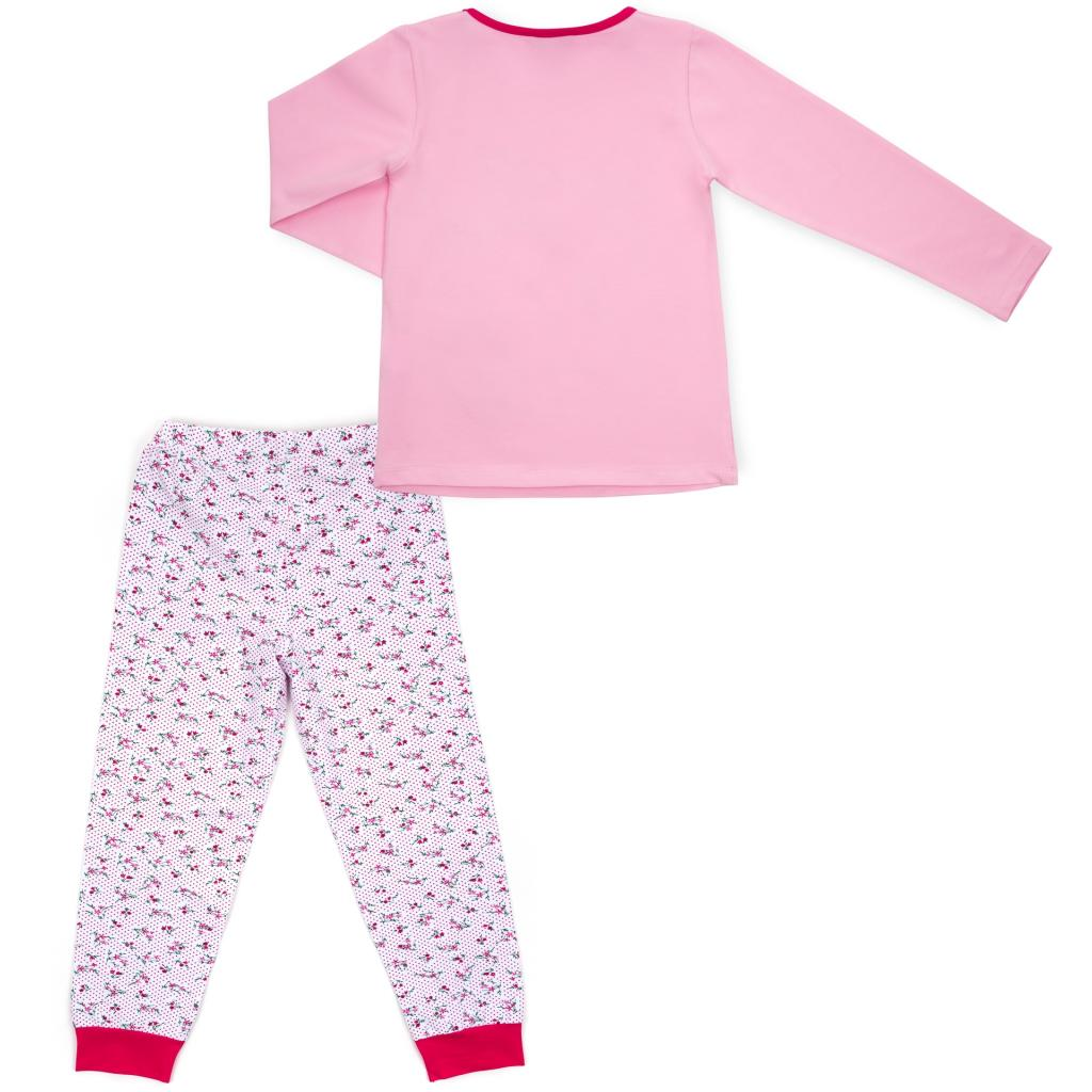 Пижама Matilda с оленями (10817-3-122G-pink) изображение 4