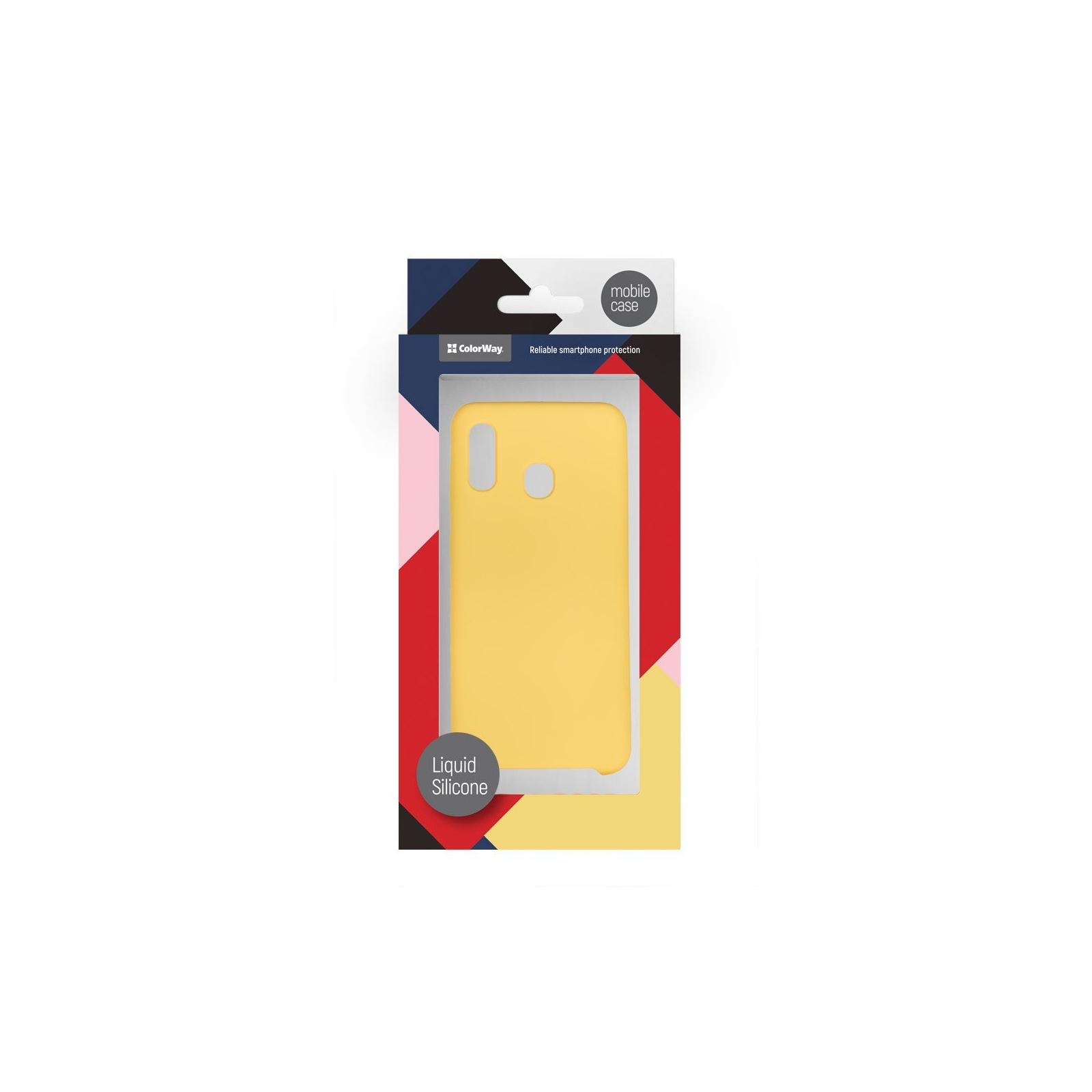 Чехол для моб. телефона ColorWay ColorWay Liquid Silicone для Samsung Galaxy A30 Red (CW-CLSSGA305-RD) изображение 5