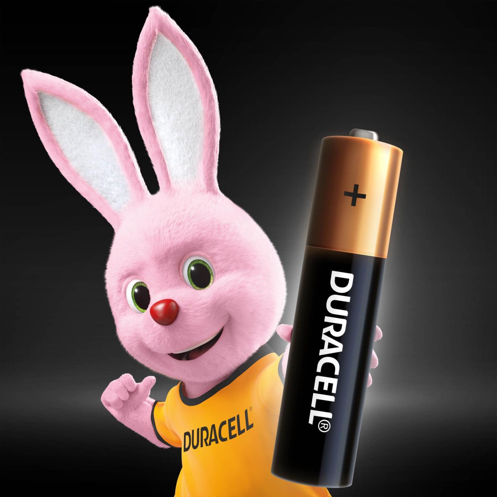 Батарейка AAA MN2400 LR03 * 4 Duracell (5000394052543 / 81545421) изображение 3