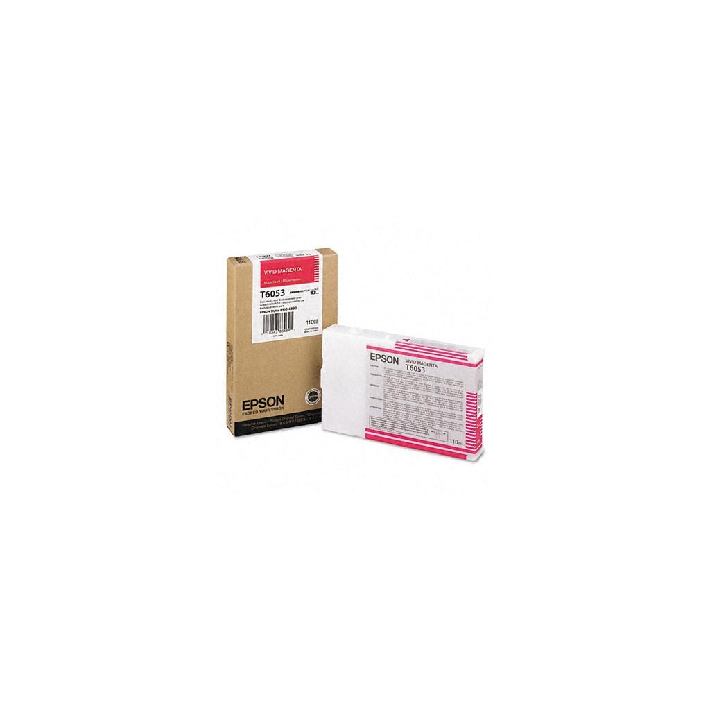 Картридж EPSON St Pro 4880 vivid magenta (C13T605300)