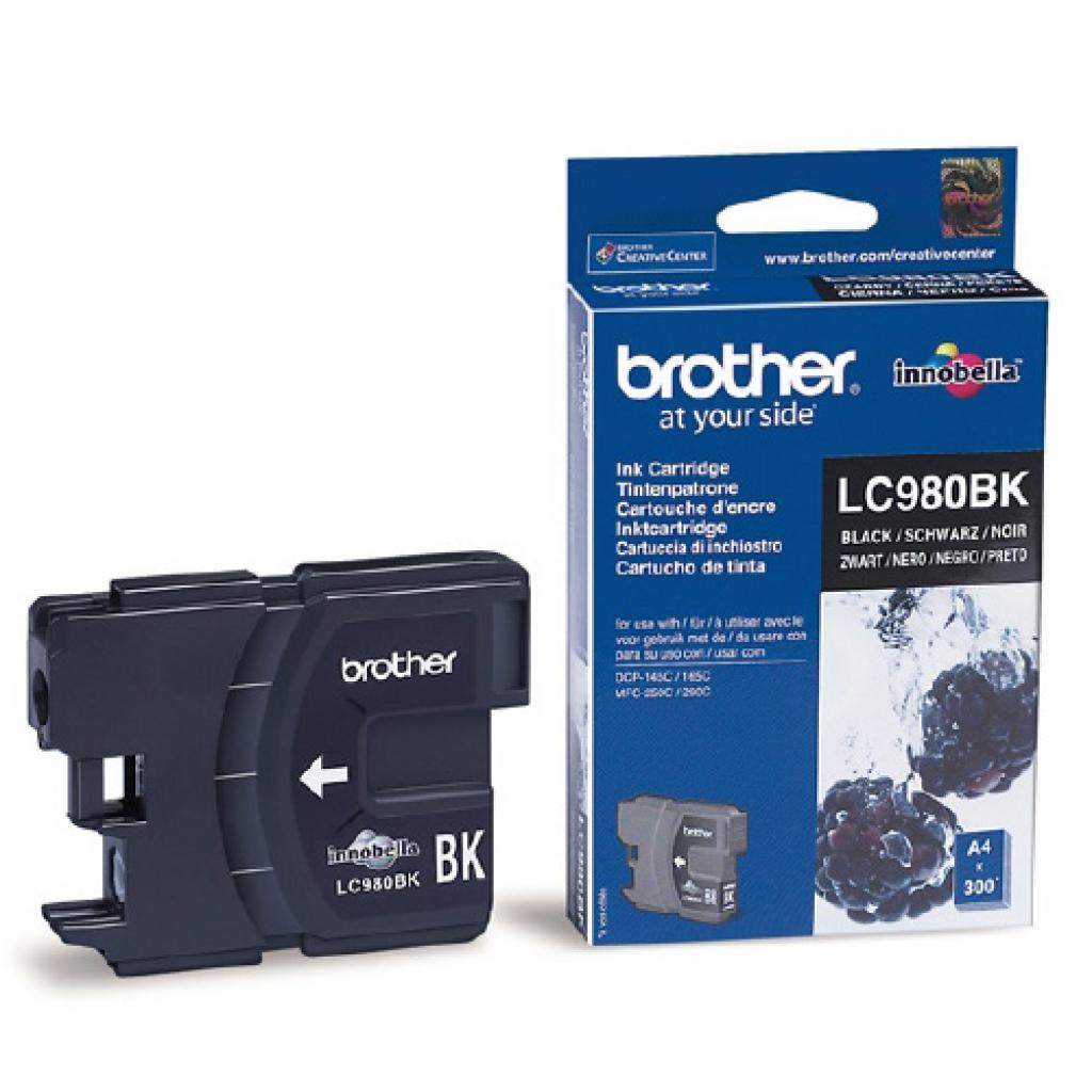 Картридж Brother DCP-145C/165C,MFC250C black (LC980BK)