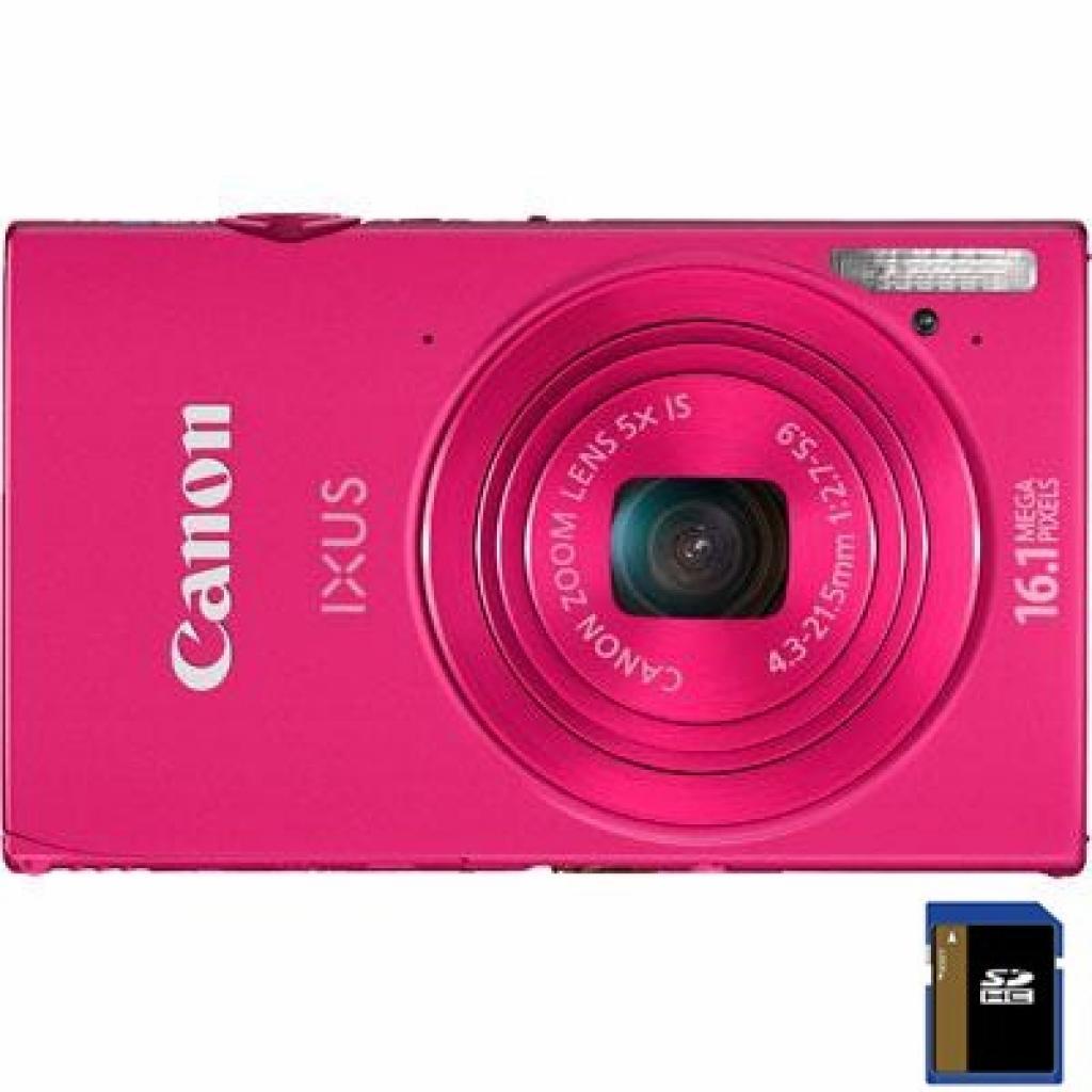 Цифровой фотоаппарат Canon IXUS 240 HS pink (6028B008)
