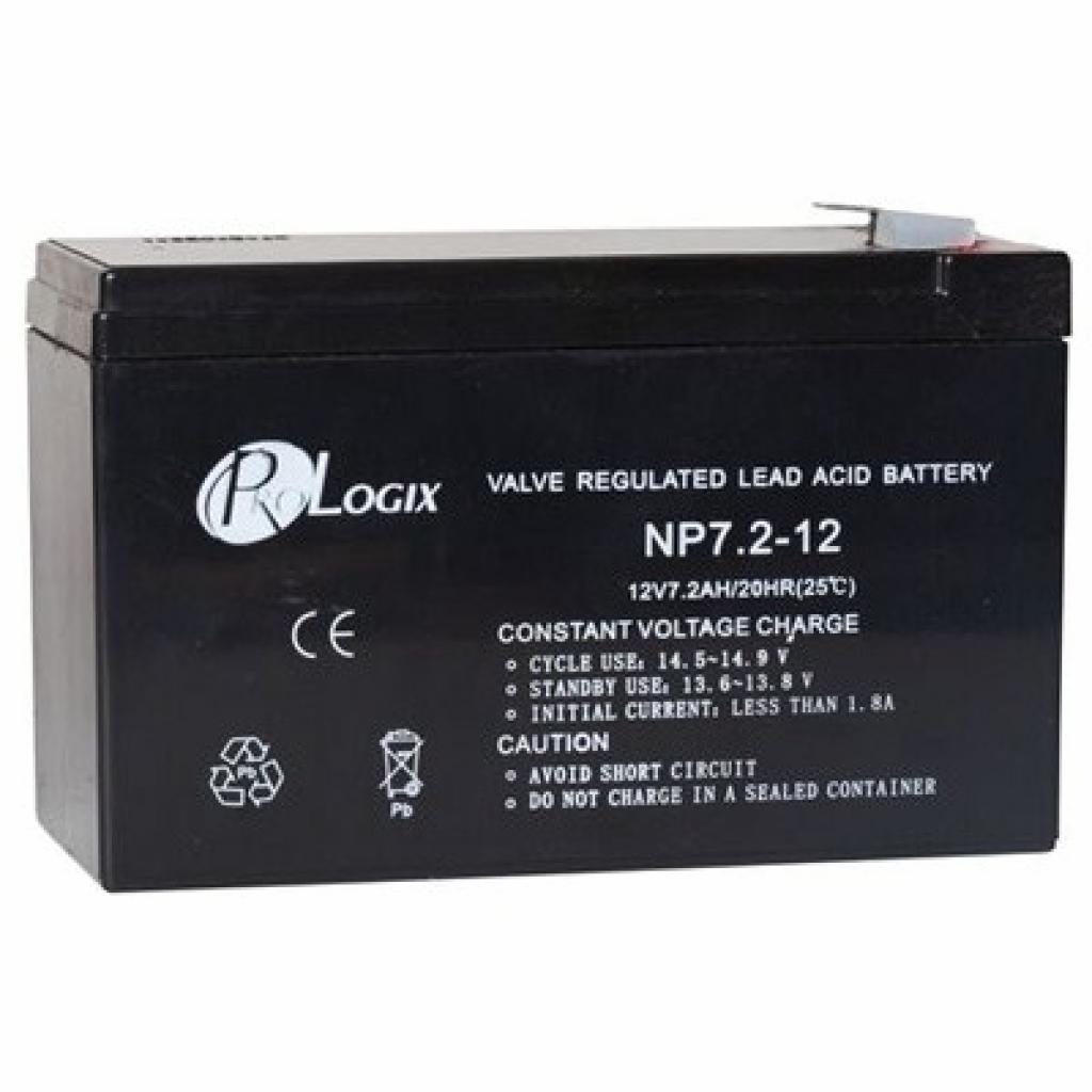 Батарея к ИБП PrologiX 12В 7.2 Ач (12-7.2)