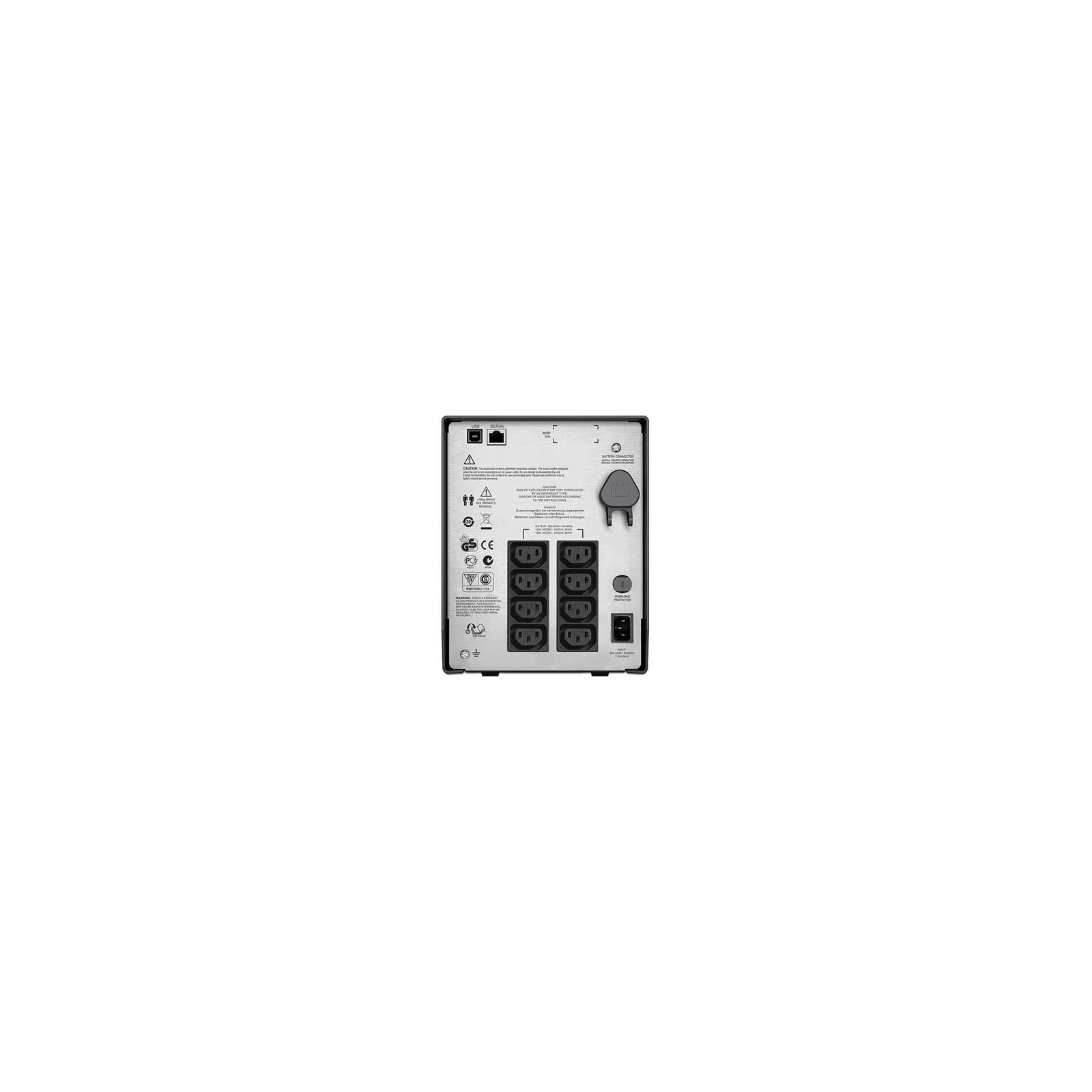 Источник бесперебойного питания APC Smart-UPS C 1000VA LCD 230V (SMC1000I) изображение 2