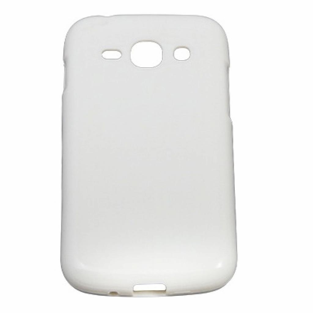 Чехол для моб. телефона Drobak для Samsung S7272 Galaxy Ace3 /Elastic PU/White (215217)