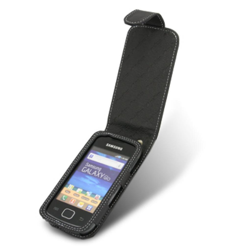 Чехол для моб. телефона Melkco для Samsung S5660 Galaxy Gio black (SS5660LCFT1BK) изображение 3