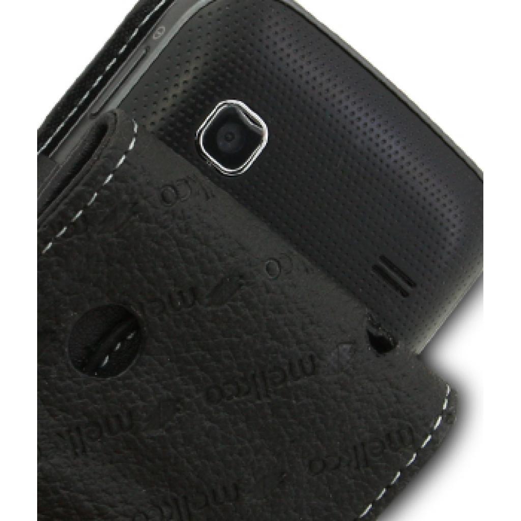 Чехол для моб. телефона Melkco для Samsung S5660 Galaxy Gio black (SS5660LCFT1BK) изображение 4