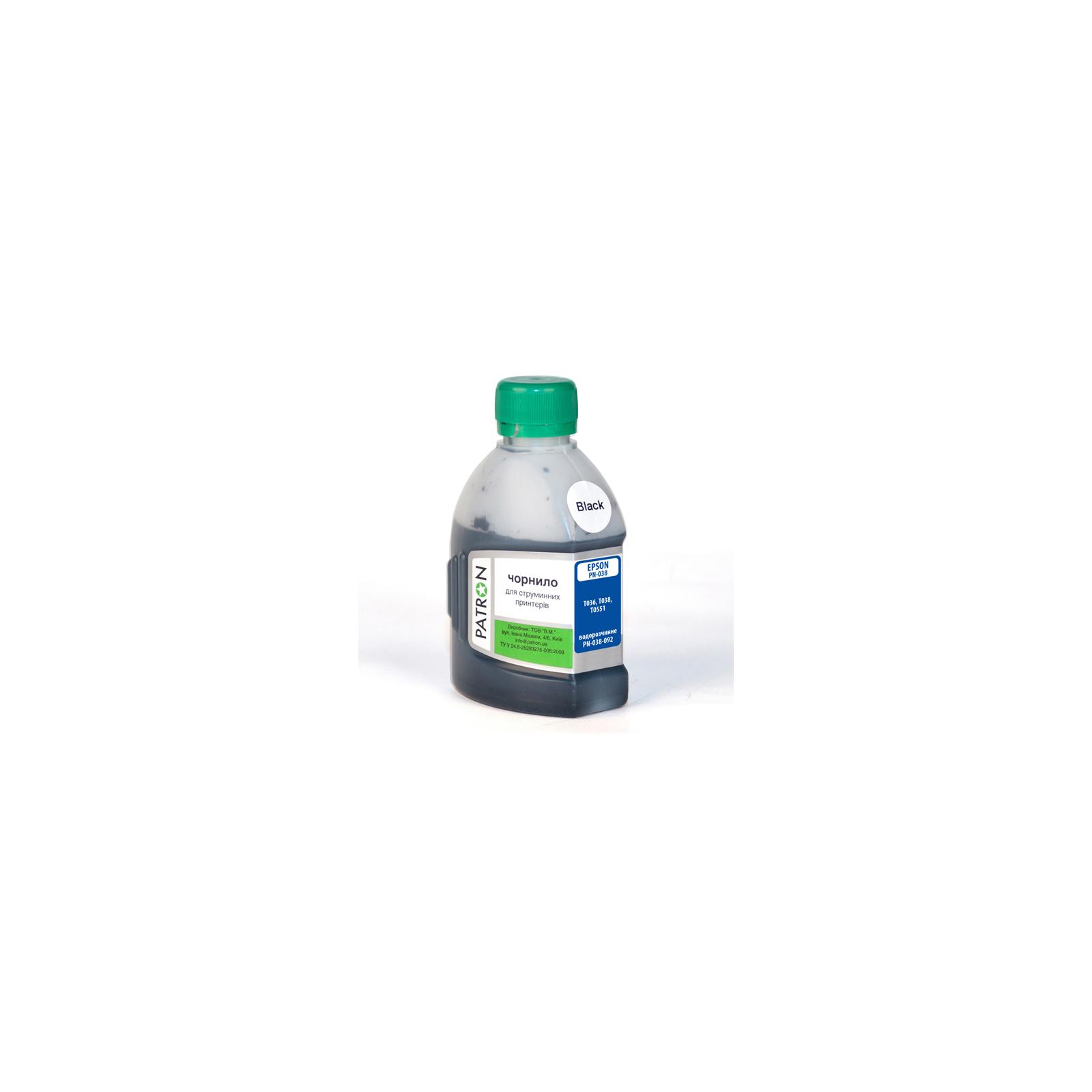 Чернила PATRON EPSON C45/T038/180г BLACK/PN-E038-092 (I-PN-ET038-180-B)