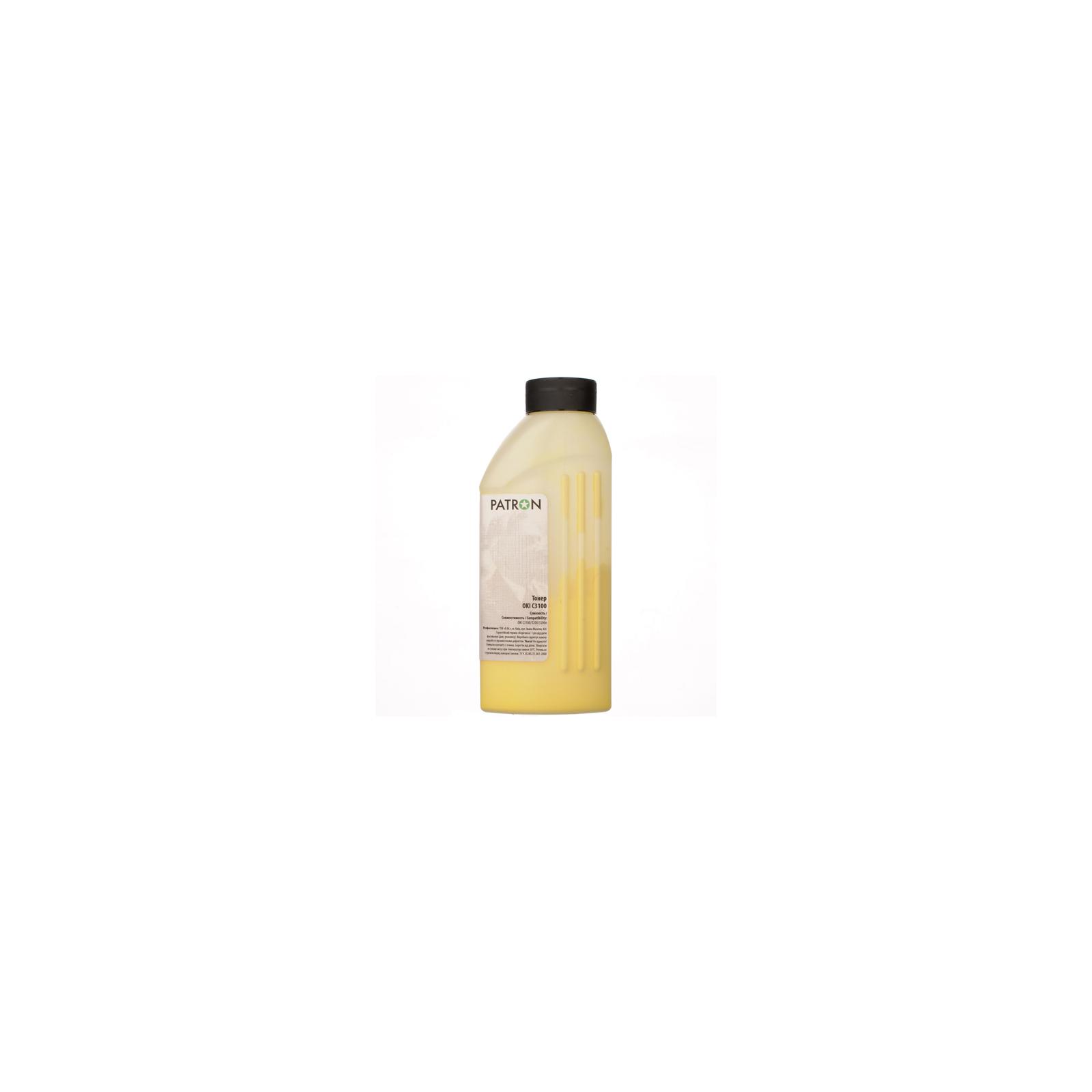 Тонер PATRON OKI C3100 YELLOW 100г (T-PN-OC3100-Y-100) изображение 2