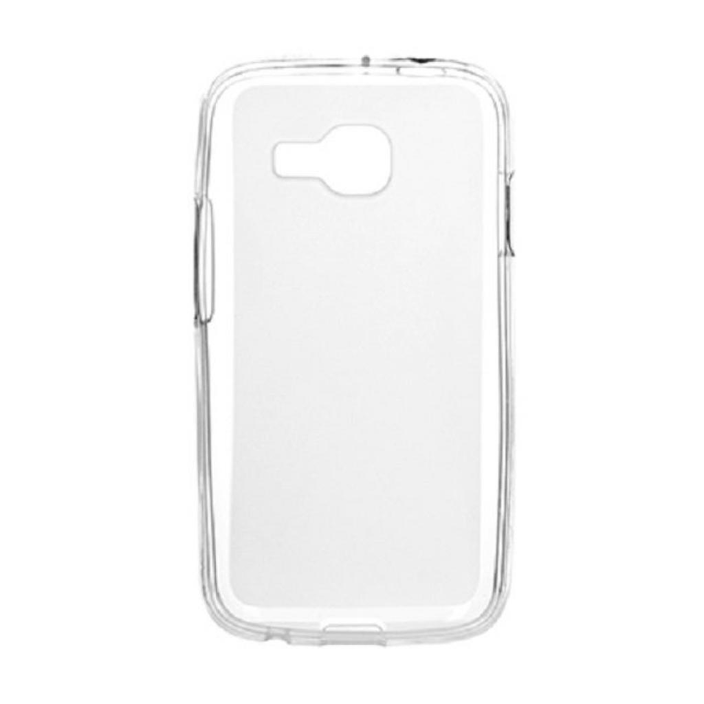 Чехол для моб. телефона Drobak для Samsung S7262 Galaxy /ElasticPU/WhiteClear (216041)