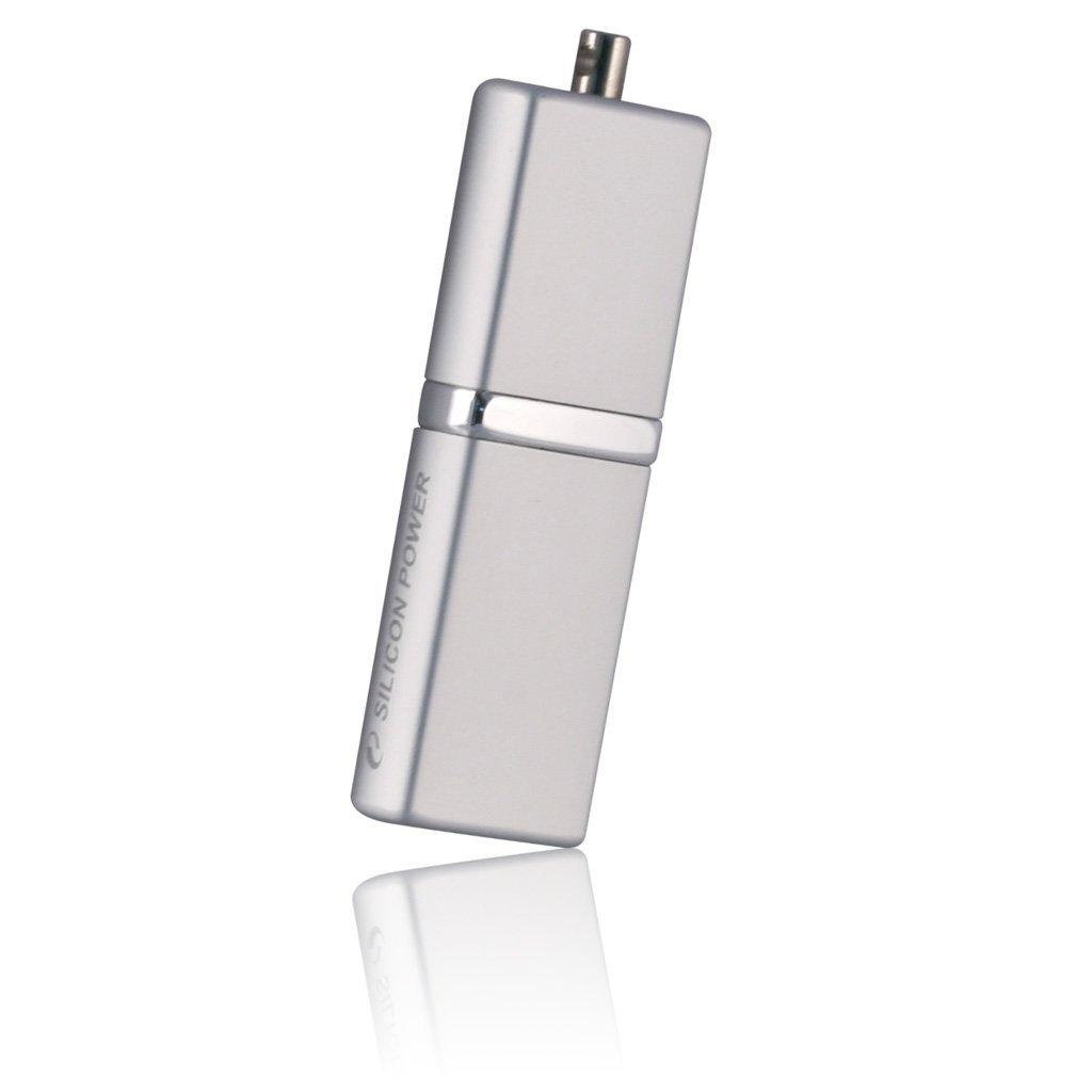 USB флеш накопитель Silicon Power 16Gb LuxMini 710 silver (SP016GBUF2710V1S) изображение 2