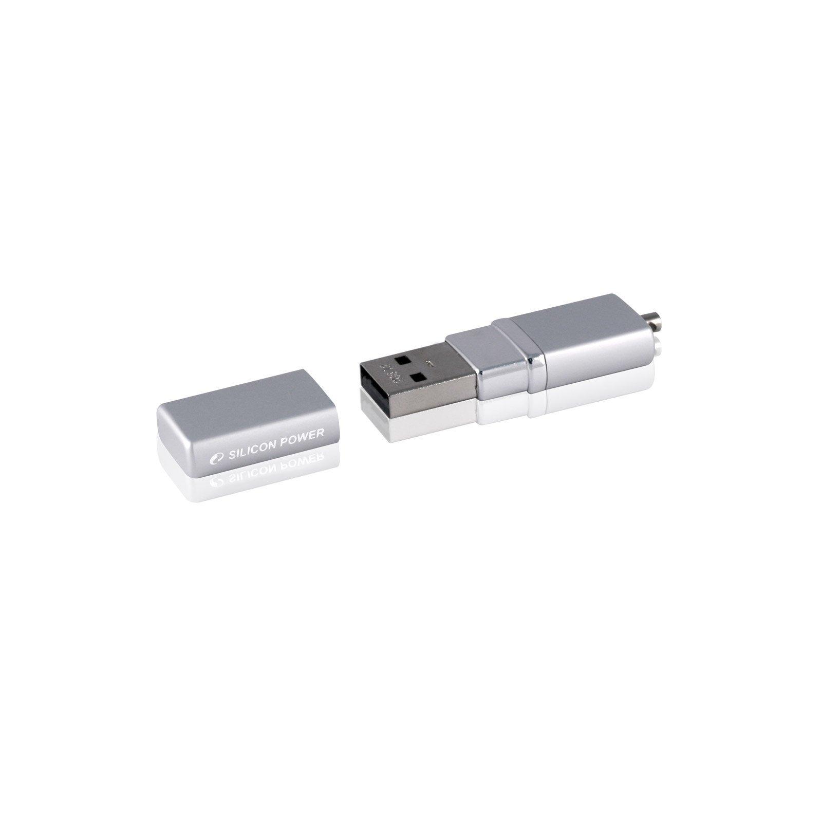 USB флеш накопитель Silicon Power 16Gb LuxMini 710 silver (SP016GBUF2710V1S) изображение 3