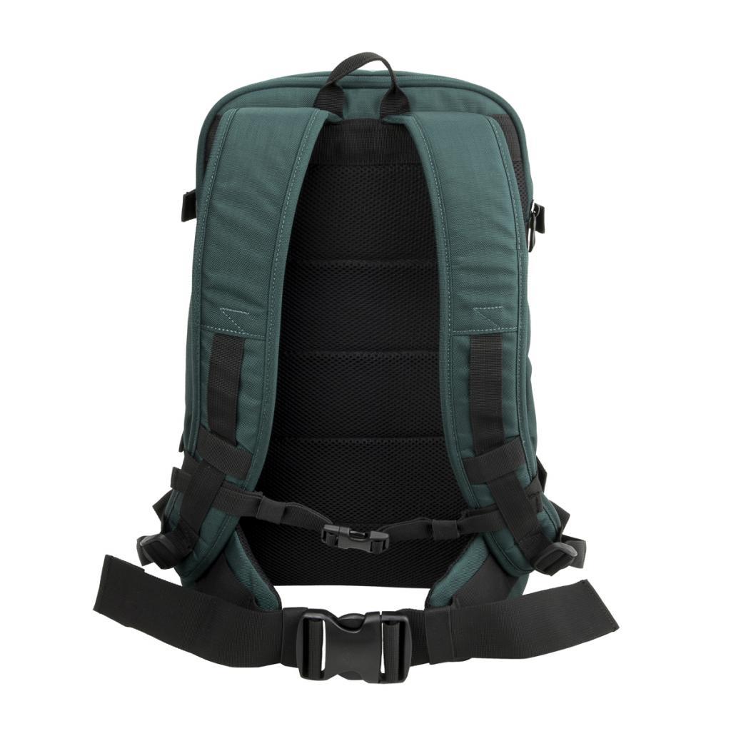 """Рюкзак для фототехники Crumpler Jackpack Full Photo +15""""NB Backpack (petrol/green yellow) (JPFBP-003) изображение 7"""