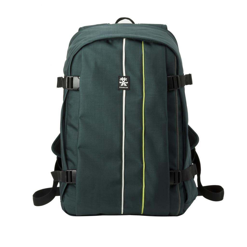 """Рюкзак для фототехники Crumpler Jackpack Full Photo +15""""NB Backpack (petrol/green yellow) (JPFBP-003) изображение 8"""