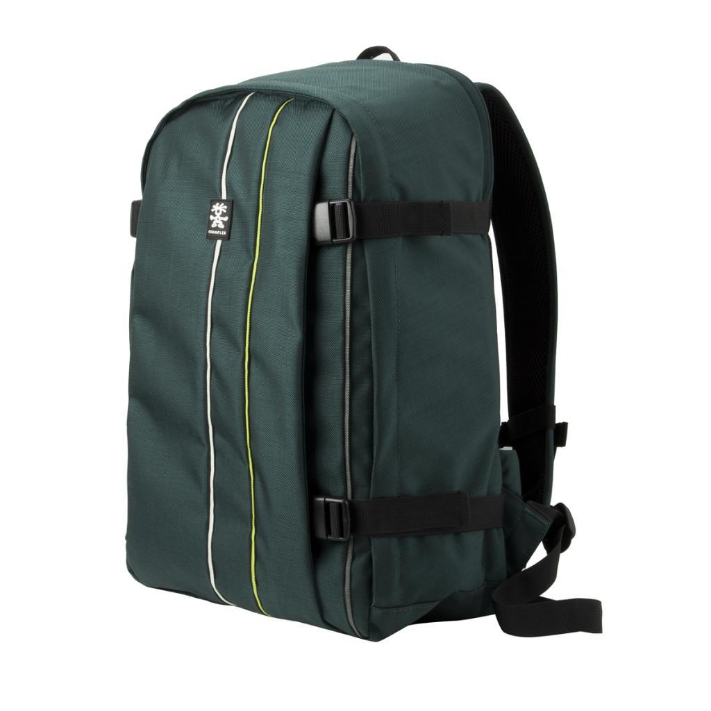 """Рюкзак для фототехники Crumpler Jackpack Full Photo +15""""NB Backpack (petrol/green yellow) (JPFBP-003)"""