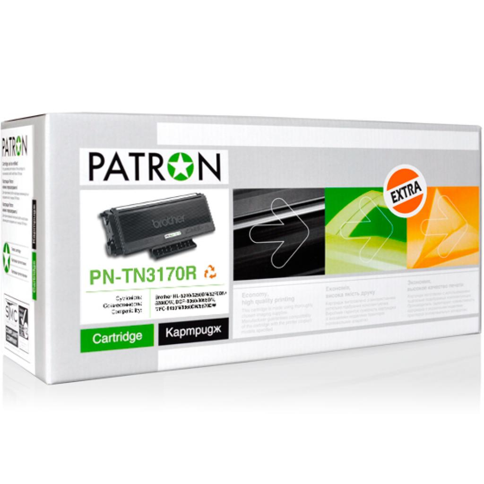 Картридж PATRON BROTHER TN-3170 (PN-TN3170R) Extra (CT-BRO-TN-3170-PN-R)