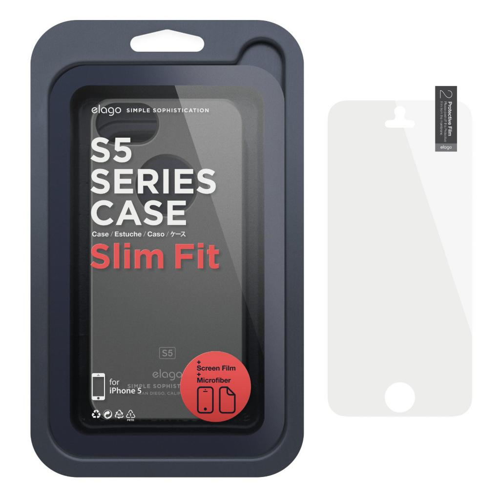 Чехол для моб. телефона ELAGO для iPhone 5 /Slim Fit Soft/Black (ELS5SM-SFBK-RT) изображение 7