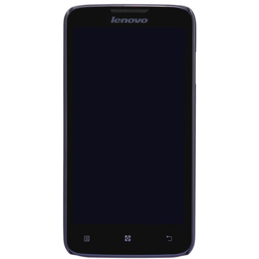 Чехол для моб. телефона NILLKIN для Lenovo A680 /Super Frosted Shield/Black (6120359) изображение 2