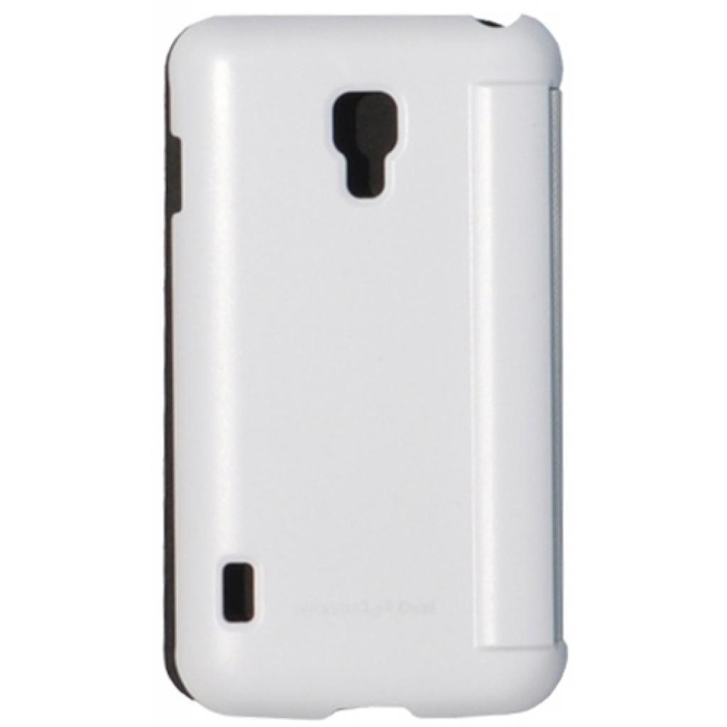 Чехол для моб. телефона VOIA для LG P715 Optimus L7II Dual /Flip/White (6068250) изображение 3