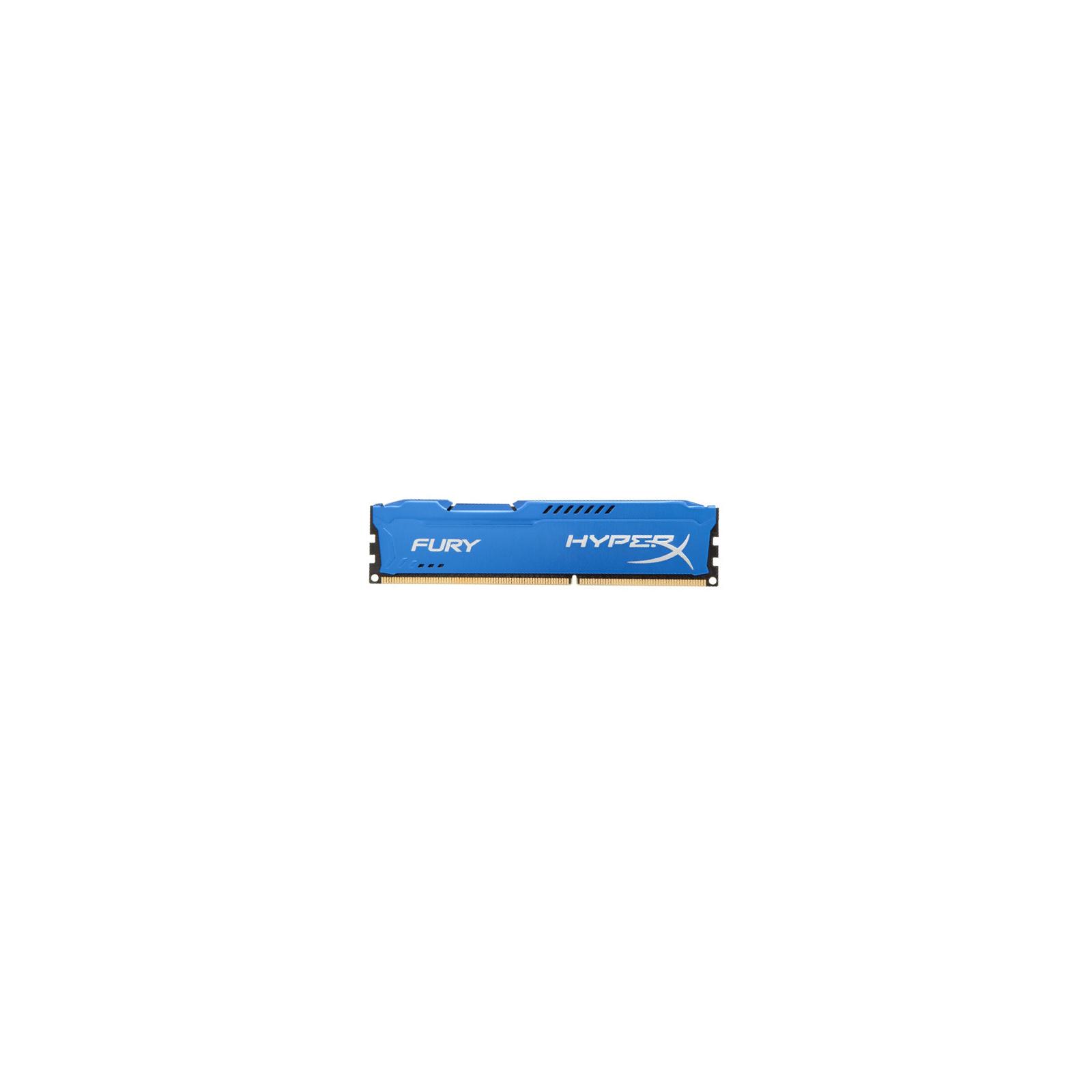 Модуль памяти для компьютера DDR3 8Gb (2x4GB) 1866 MHz HyperX Fury Blu Kingston (HX318C10FK2/8) изображение 3