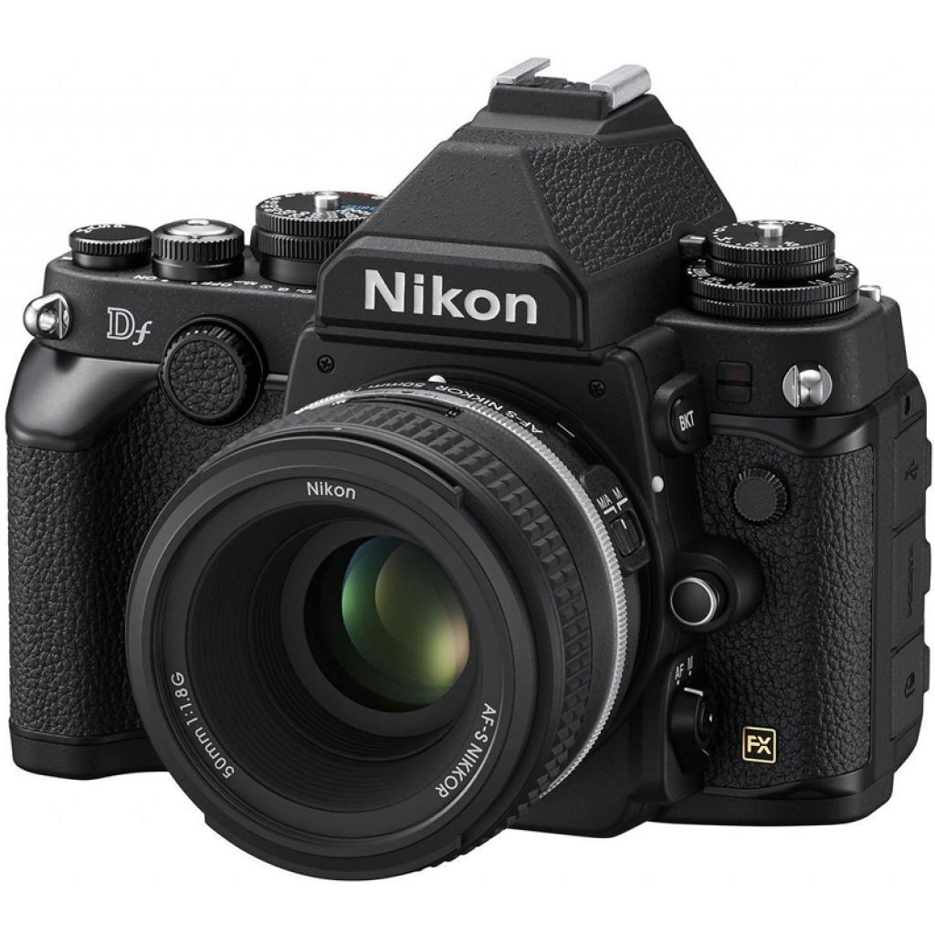 Цифровой фотоаппарат Nikon Df body Black (VBA380AE) изображение 3