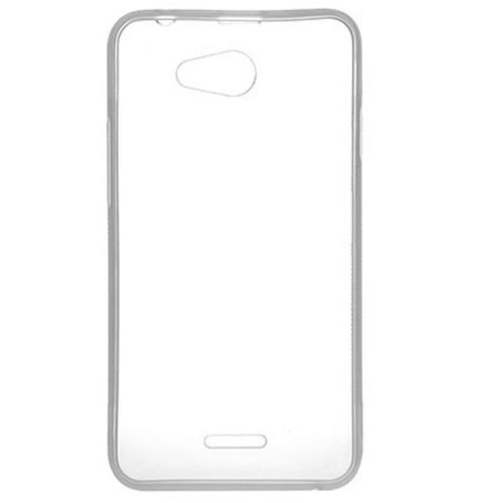 Чехол для моб. телефона для HTC Desire 516 (White Clear) Elastic PU Drobak (216404) изображение 2