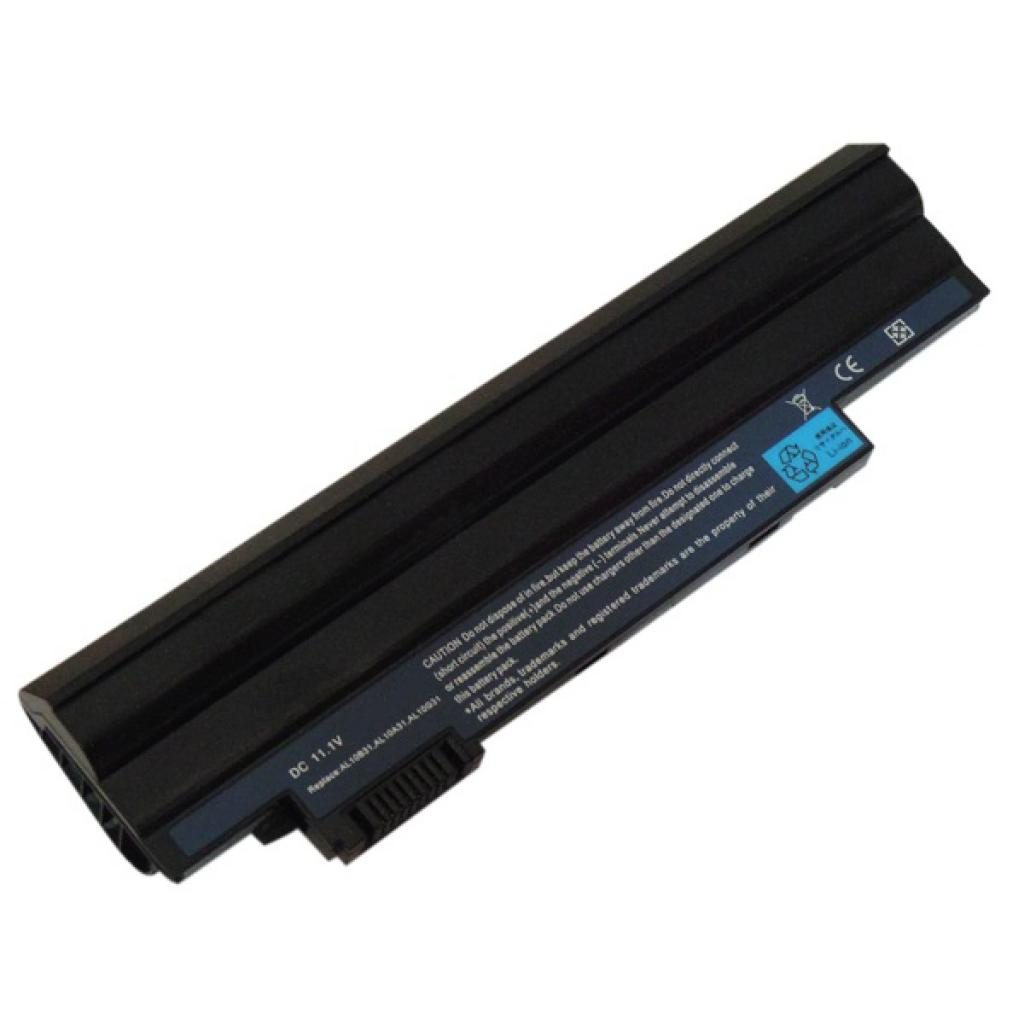 Аккумулятор для ноутбука ACER Aspire One D255 (AL10A31, AC D620 3S2P) 11.1V 5200mAh PowerPlant (NB00000093)