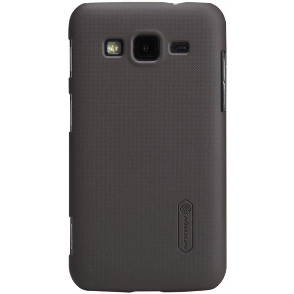 Чехол для моб. телефона NILLKIN для Samsung I8580 /Super Frosted Shield/Brown (6135249)
