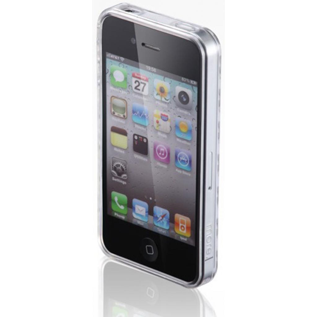 Чехол для моб. телефона VOORCA iPhone4 Crystal Case белый (V-4C white) изображение 2