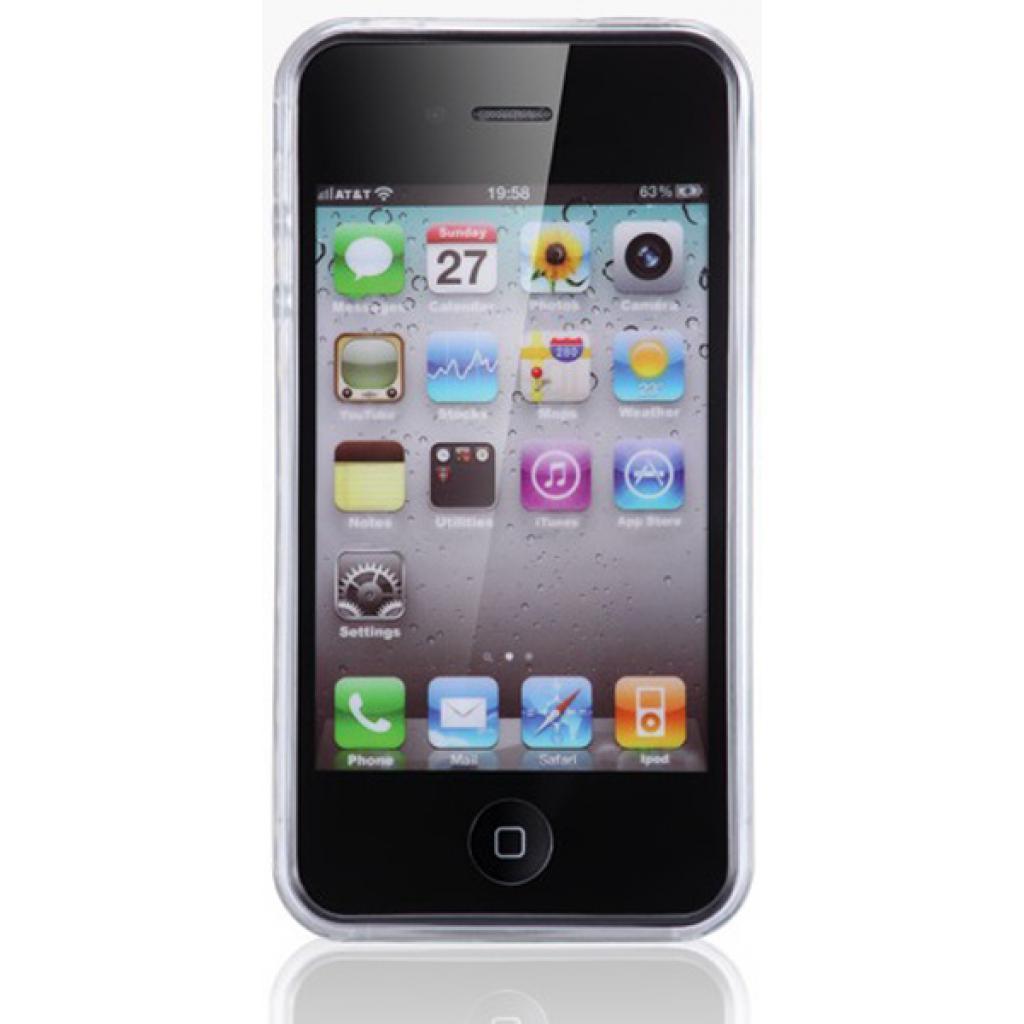 Чехол для моб. телефона VOORCA iPhone4 Crystal Case белый (V-4C white) изображение 3