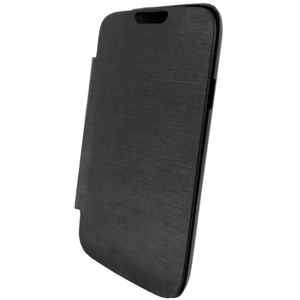 Чехол для моб. телефона GLOBAL для LG D170 L40 Dual (PU, черный) (1283126459832) изображение 2