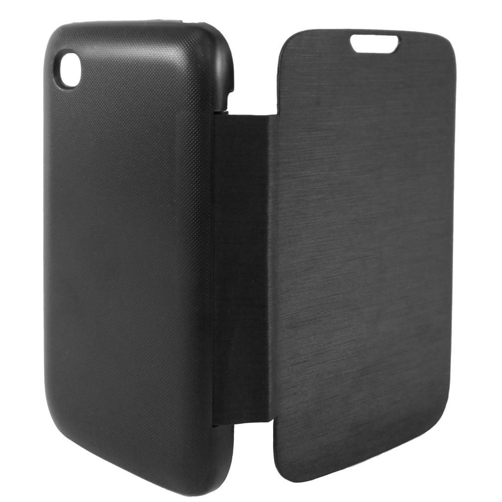 Чехол для моб. телефона GLOBAL для LG D170 L40 Dual (PU, черный) (1283126459832)