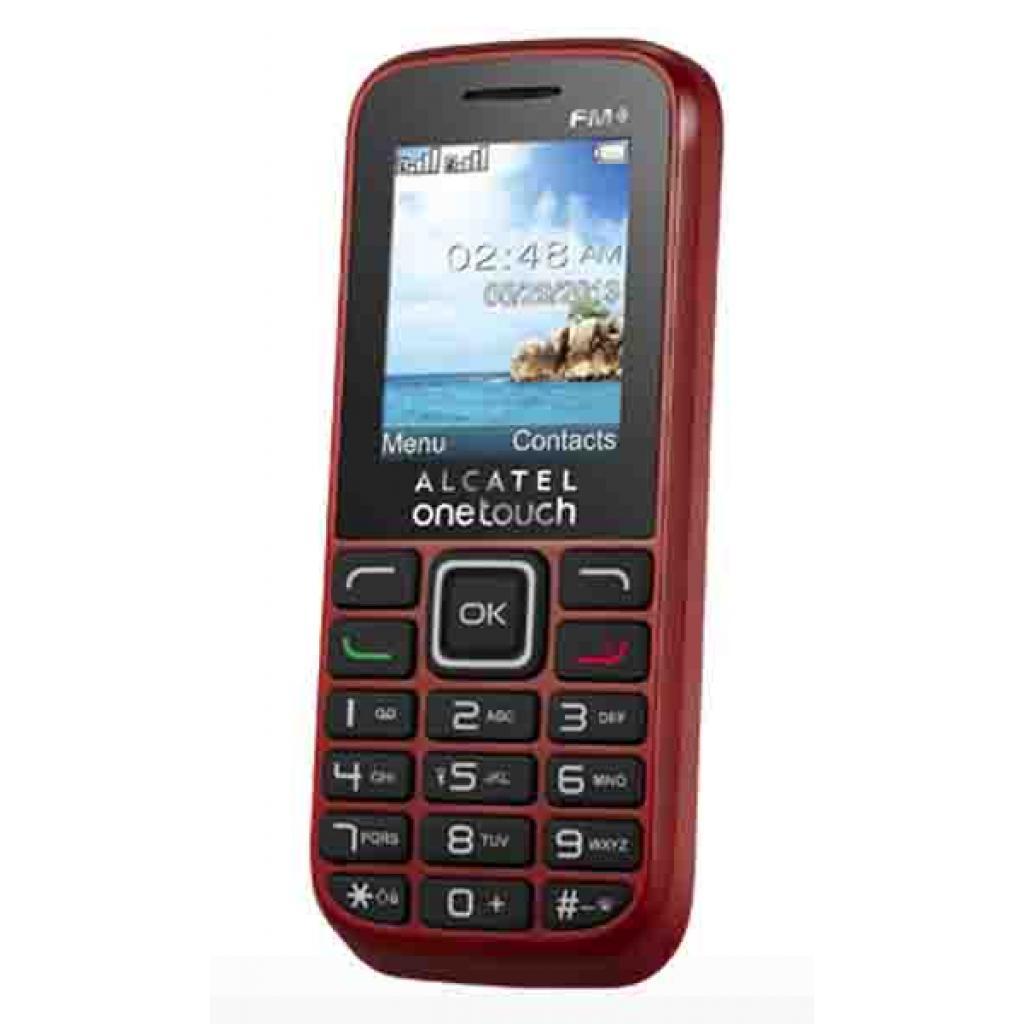 Мобильный телефон ALCATEL ONETOUCH 1042D Deep Red (4894461096049) изображение 4