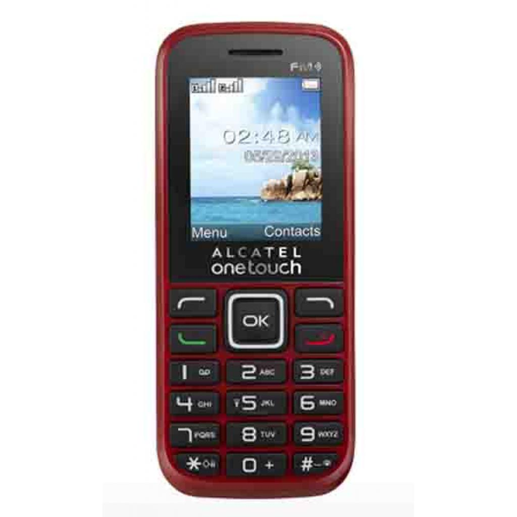Мобильный телефон ALCATEL ONETOUCH 1042D Deep Red (4894461096049)