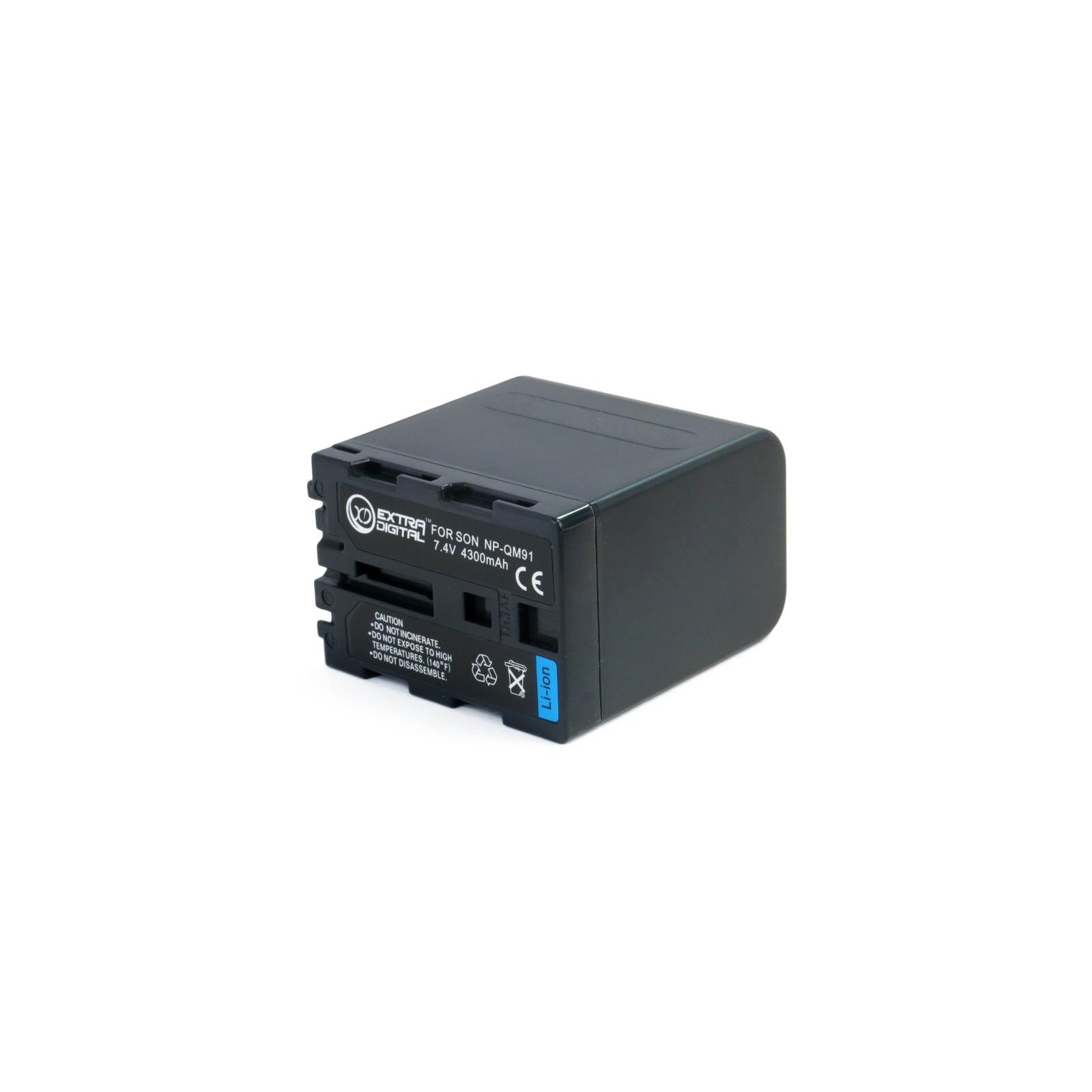 Аккумулятор к фото/видео EXTRADIGITAL Sony NP-QM91 (DV00DV1030) изображение 2