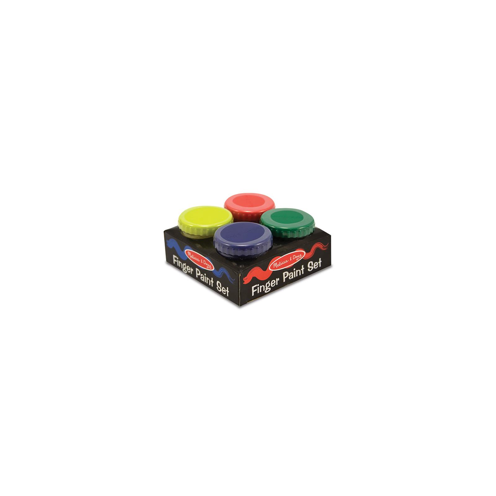 Краски для рисования Melissa&Doug Пальчиковые краски 4 шт (MD4146)