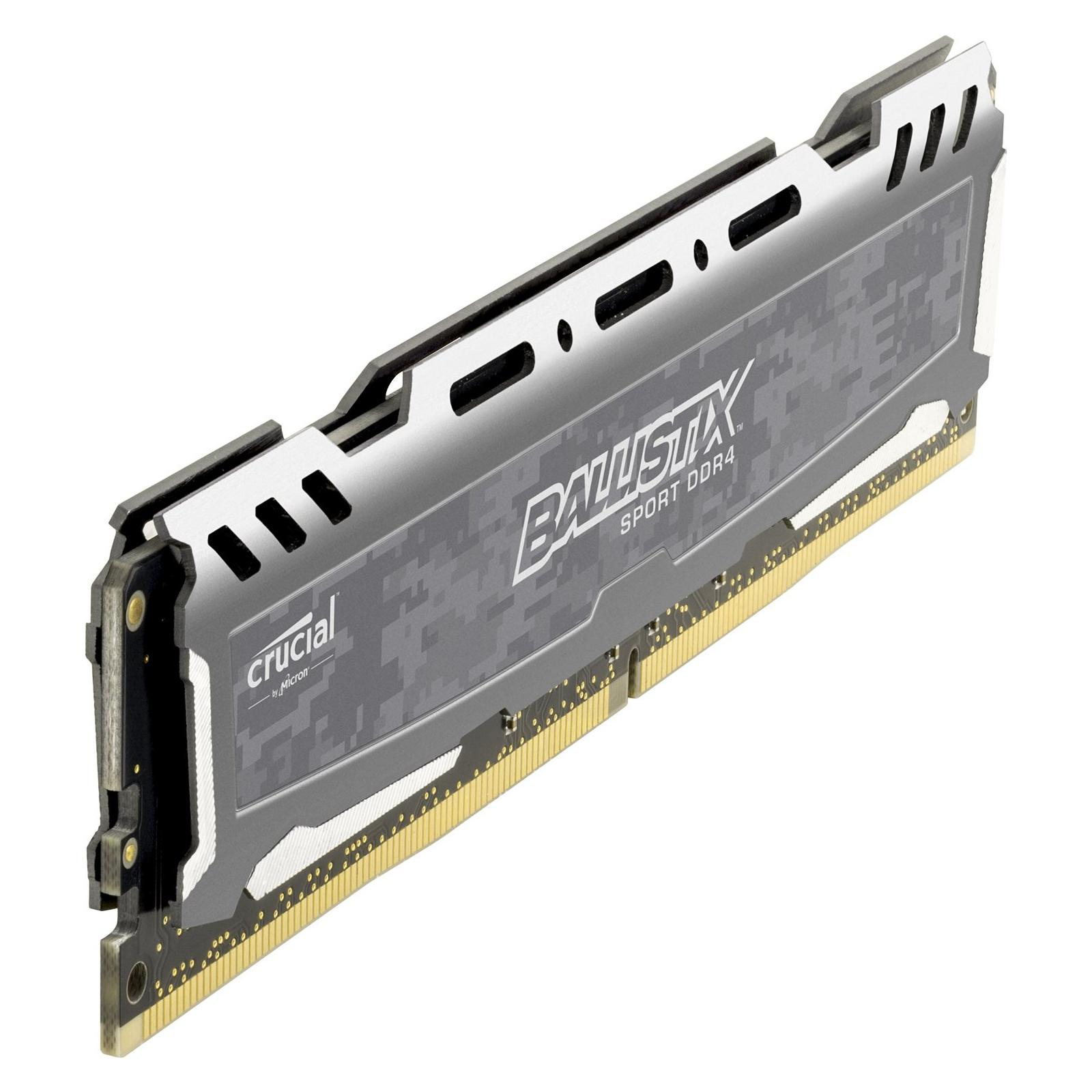 Модуль памяти для компьютера DDR4 4GB 2400 MHz Ballistix Sport MICRON (BLS4G4D240FSB) изображение 2