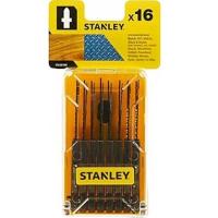 Полотно Stanley набор STA28160 по дереву, металлу 16шт. (STA28160)