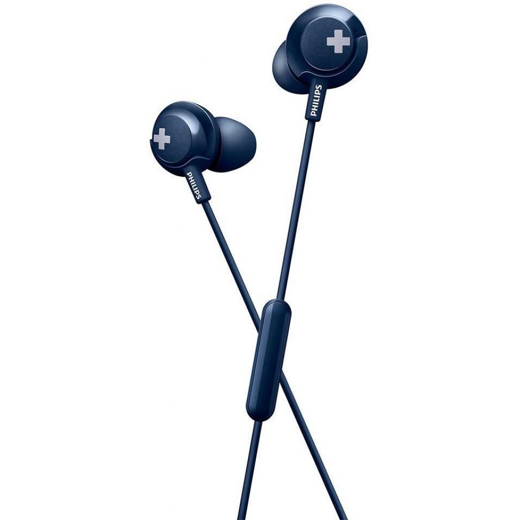 Наушники Philips SHE4305 Blue (SHE4305BL/00) изображение 2