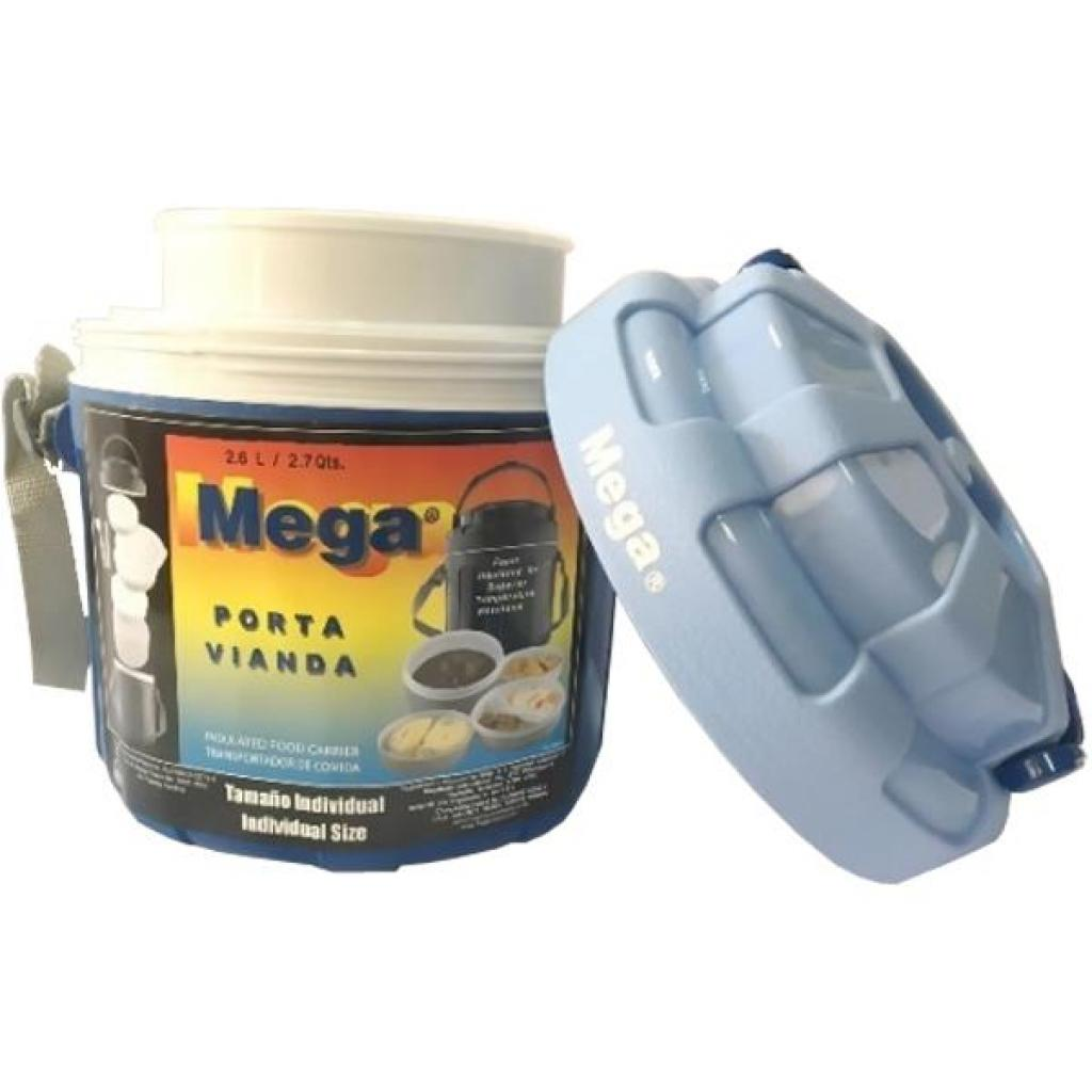 Термобокс Mega 2,6 л синий (717040954278BLUE) изображение 8