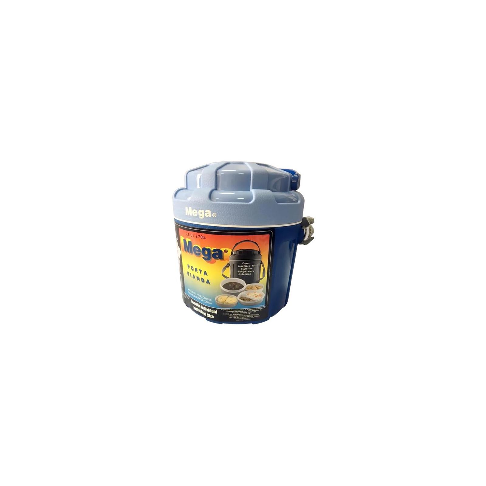 Термобокс Mega 2,6 л синий (717040954278BLUE) изображение 9